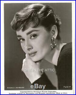 Adorable Audrey Hepburn Original Vintage Portrait Still #5