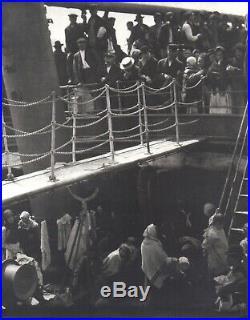 Alfred Stieglitz Gelatin Silver Photograph The Steerage, 1907