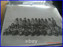 Amazing Vtg 1930s-40s African American Photo Album. Military, Fire Dept, Police