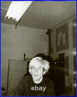 Andy Warhol Rare Vintage 1983 Original Self-Portrait Photograph FL01.00231