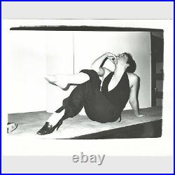 Andy Warhol Rare Vintage Original Liza Minnelli B&W Photograph FL04.00377