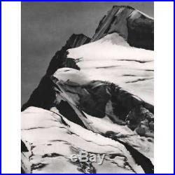 Ansel Adams Mt. Resplendent (Printed1960's, USA) Vintage Photography Art COA