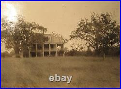 Antique Chalmette Plantation Battle New Orleans Beauregard Confederate Son Photo