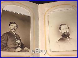 Antique Civil War Soldier PHOTO ALBUM Tintype CDV Postmortem Child Minnesota Vtg