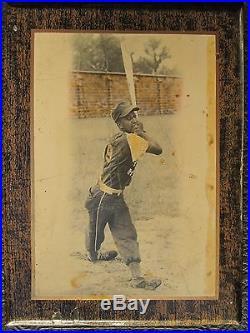 Antique Vintage African American Negro Baseball Photo Black History Fl Origin