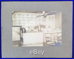 Antique Vintage Manhattan Ny Diner Bergman Freidin Egg Pie Bacon Cake Beef Photo