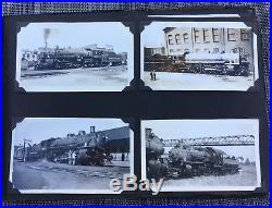 Antique Vintage Northern Pacific Railroad Train Locomotive Photo Album