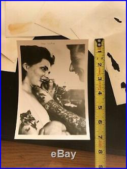 Antique Vintage Tattoo. Kevin Coppin. Bernard Kobel photo. Australia1950s 1960s