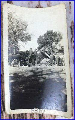 Antique Vtg Photo Lot Townsend Oil Farm Tractor 1920s Farmers Farm Boys Rare