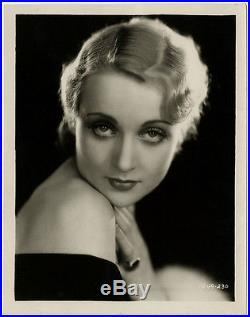 Art Deco Vamp Carole Lombard Vintage 1930 Pre-Code Early Very Rare Photograph