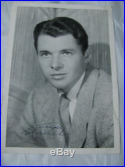 Audie Murphy Vintage Signed B&w Photo / Photograph