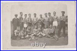 Awesome Guys Group Muscle Athlete Pose Vintage 1920s Orig Photo Gay Int. 61121