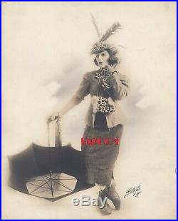 BEBE DANIELS Vintage Original DW Photo ALBERT WITZEL age 14, 1915 Very Rare