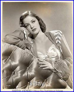 BIG SLEEP, THE (1946) Vintage original 8x10 pin-up photo ft. Martha Vickers
