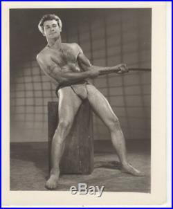 BOB MIZER AMG vintage original gay photograph 4x5 HEY SAILOR