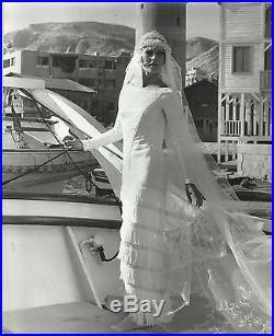 BRIGITTE BARDOT Original Vintage Photograph 1970's FASHION PORTRAIT