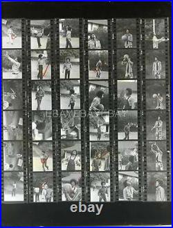 BROTHERS with MICHAEL JACKSON FIVE 5 1970S CANDID CONTACT SHEET by LOEW PHOTO 569S