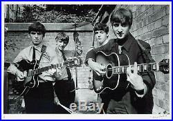 Beatles Abbey Road Studios London 1963 B&W Silverprint signed by Terry O'Neill