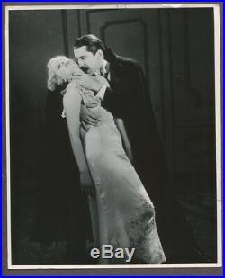 Bela Lugosi & Helen Chandler Dracula 1940 Vintage Photo Horror Film Still J3388