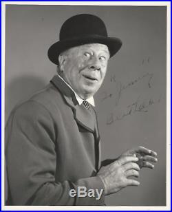 Bert Lahr. Wizard of Oz. The Cowardly Lion. Zeke. B/W 8x10 Vintage Autograph