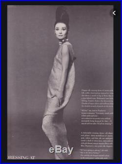 Bert Stern ICONIC AUDREY HEPBURN! 14 x11 Vintage Silver Print 1963 VOGUE