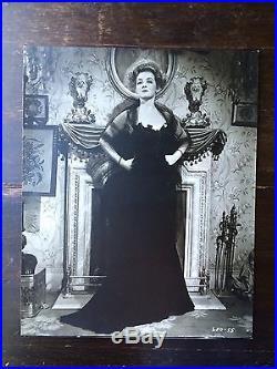 Bette Davis 1941 Film Little Foxes Vintage Photo Rare Size 16x20 George Hurrell