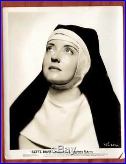 Bette Davis 30 Very Rare 8x10 Original Vintage Photo