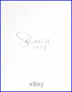 Big Nude Female Photo 16x20 Vintage Gelatin Silver Dkrm Print Signed Orig 1977