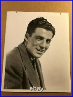 Billy Halop Rare Early Vintage Original Photo With Tag'41 Dead End Kids