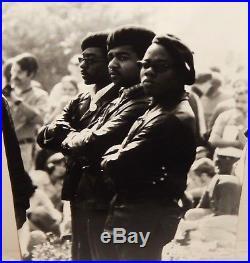 Black Panther Vintage Original Black And White Photograph 1965