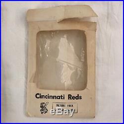 CINCINNATI REDS 1960s VTG STAR PLAYER Photo Pack ROSE Bench Pinson B/W 12