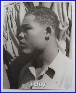 Carl Van Vechten Vintage 1941 Young Joe Louis Boxing Champion Photograph