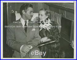 Carole Lombard Clark Gable GWTW Premiere in Atlanta Vintage Photo 1939