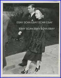Carole Lombard Clark Gable Jean Harlow Funeral Service Vintage Photo