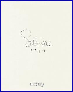 Chet Baker Portrait Photo / 8X10 B&W Vintage Gelatin Silver Print / Signed