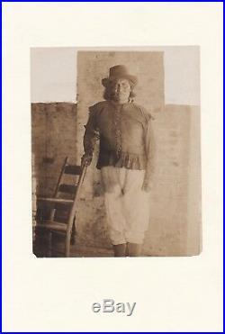 Circa 1900 Vintage Native American Geronimo Photo VERY RARE