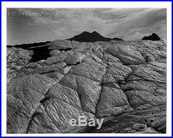 Cole Weston Photo, Vintage Gelatin Silver, Matanuska Glacier, Alaska 1975