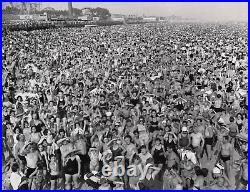 Crowd At Coney Island Weegee Fellig Listen Without Prejudice Photograph