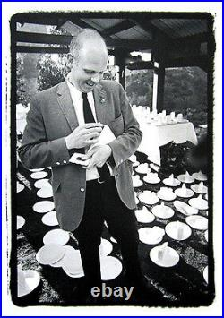 DENNIS HOPPER Signed 1966 Original Photograph Claes Oldenburg Stamping Cake