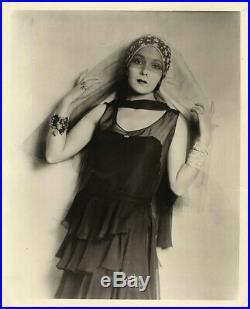 DOLORES DEL RIO (ca. 1926) Vintage original 8x10 b&w photo in contemporary gown