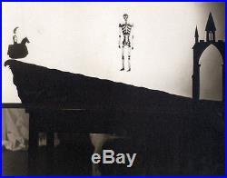 Daisy K. Smith, Puppet theater, Vintage photo original 1935 UK black and white