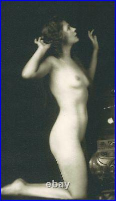 Deco Nude Ziegfeld Barbara Deane Treasure Chest Alfred Cheney Johnston Photo