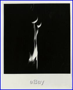 Dramatic Nude Figure Study Vintage Erotica Peter Basch Light & Shadow Photograph