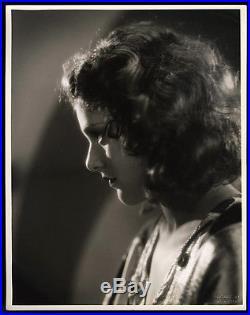 Dramatic Pre-Code Vamp Lillian Roth Vintage 1930 Large Otto Dyar Photograph Rare