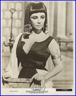 ELIZABETH TAYLOR in Cleopatra Original Vintage Photograph 1963 PORTRAIT