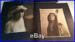 ELIZABETH WOOD Society Beauty Vintage 1900s Photo Album News ROBERT STACK WITZEL