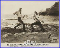 ERROL FLYNN & BASIL RATHBONE in Captain Blood Original Vintage Photograph 1935