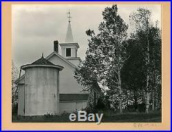 Edward Weston Vintage 1941 Mounted Initialed Dated New England Barn