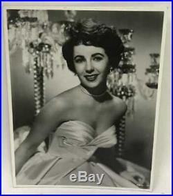 Elizabeth Taylor 3 Vintage Photograph Collection