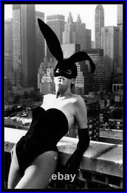 Elsa Peretti II, New York 1975 16x20 Vintage Silver Gelatin Print by Helmut Ne